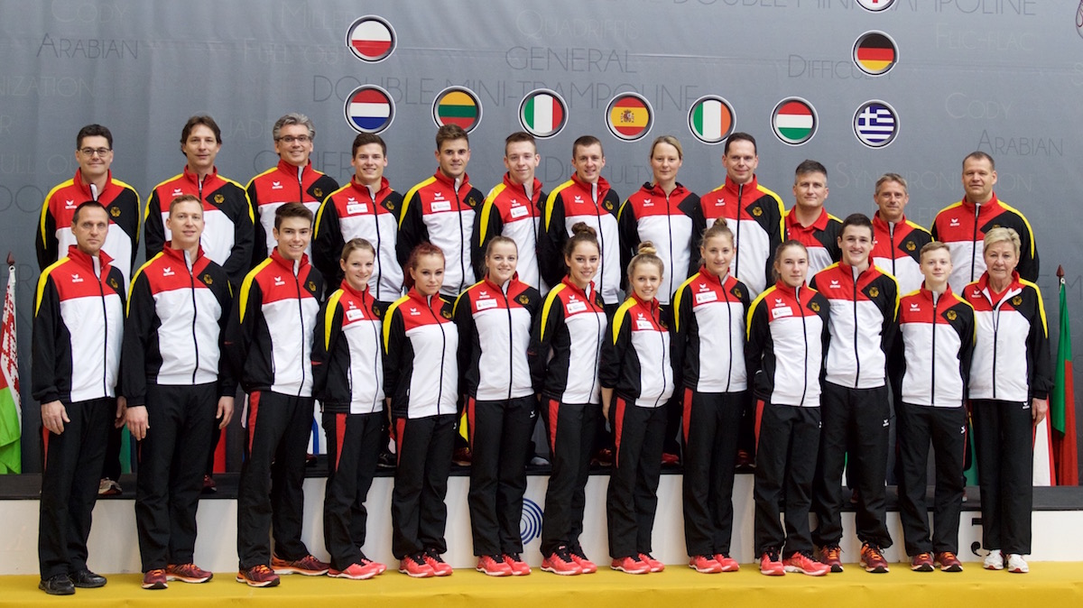 Trampolin Nationalmannschaft